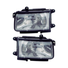 Isuzu Headlight Assembly Pair
