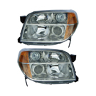 BuyAutoParts 16-80550A9 Headlight Assembly Pair 1
