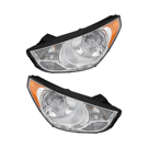 Headlight Assembly Pair 16-80575 A9