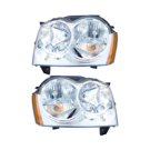 Pair of Headlight Assemblies