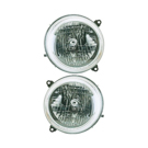 Pair of Headlight Assemblies - Models to Prod Date 10-6-2002