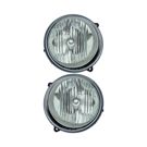 Pair of Headlight Assemblies - without Headlight Leveling