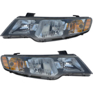 Kia Headlight Assembly Pair