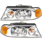 Lincoln Headlight Assembly Pair