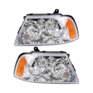 Pair of Headlight Assemblies - without HID