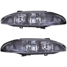 Mitsubishi Headlight Assembly Pair