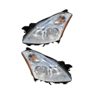 BuyAutoParts 16-80705A9 Headlight Assembly Pair 1