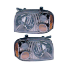 Pair of Headlight Assemblies - SE and SC Models