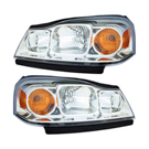 BuyAutoParts 16-80781A9 Headlight Assembly Pair 1