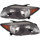 Scion Headlight Assembly Pair