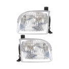 Pair of Headlight Assemblies - Double Cab Models