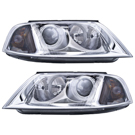 BuyAutoParts 16-80980H2 Headlight Assembly Pair 1