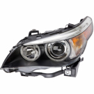 Headlight Assembly Pair - Bi-Xenon without Adaptive Control - i Models to Prod. Date 01-31-05
