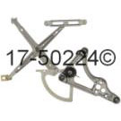 Mercedes_Benz 380SEL Window Regulator Only