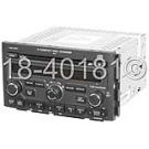 Radio-AM-FM-Cass-6CD with Face Code 1PV1 with Rear DVD [OEM 39100- S9V-A8]