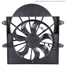 2004 Acura RSX Cooling Fan Assembly 1