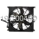 BMW 318is Cooling Fan Assembly