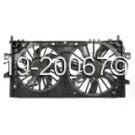 Dual Fan Assembly - 5.3L Models