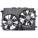 Dual Fan Assembly - 5.7L Models