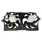 Radiator and Condenser Side - 3.4L Models with HDC
