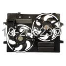 Jaguar Cooling Fan Assembly
