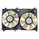 Dual Fan Assembly - 3.0L Models without Towing Pkg