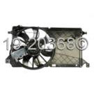 Mazda 3 Cooling Fan Assembly