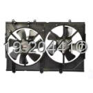 Radiator and Condenser Side - 2.4L  Models