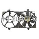 Radiator and Condenser Side - 1.8L Models without AC