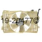 Radiator and Condenser Side - 1.8L Models