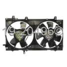 Dual Fan Assembly - 2.5L Non Turbo Models