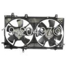 Dual Fan Assembly - 2.5L Turbo Models