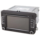 AM-FM-XM-MP3-6CD Radio with Touch Screen [OEM 1K0035180AC]