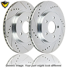 Brake Disc Rotor Set 71-88260 J4