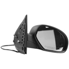 BuyAutoParts 14-11173ML Side View Mirror 2