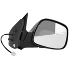 BuyAutoParts 14-11203MI Side View Mirror 2