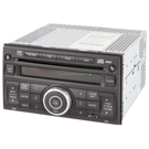 Radio-AM-FM-Single CD with Face Code CY13F and OEM 28185-ZT50A