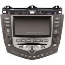 In-Dash Navigation Unit with 6CD Radio and Face Code 2CK2 2CK3 or 2CK4