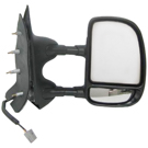 BuyAutoParts 14-80150MX Side View Mirror Set 2