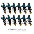 BMW 750iL Fuel Injector Set