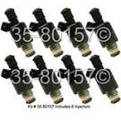 Pontiac Fuel Injector Set