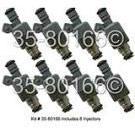 Fuel Injector Set 35-80166 I8