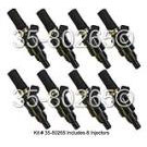 Porsche 928 Fuel Injector Set