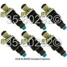Eagle Fuel Injector Set