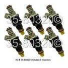 Plymouth Sundance Fuel Injector Set