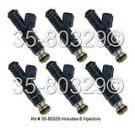 Saab 9000 Fuel Injector Set
