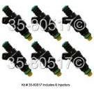 Saab 900 Fuel Injector Set