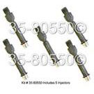 Fuel Injector Set 35-80550 I5