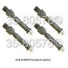 Audi 90 Fuel Injector Set