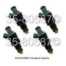 Fuel Injector Set 35-80587 I4